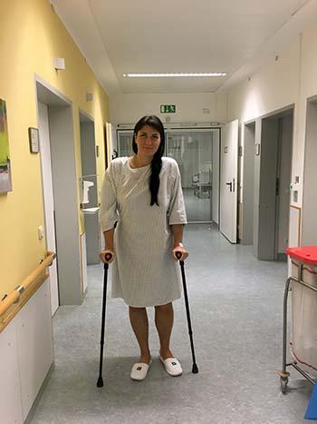 Замена тазобедренного сустава в германии отзывы щелкает голеностопный сустав